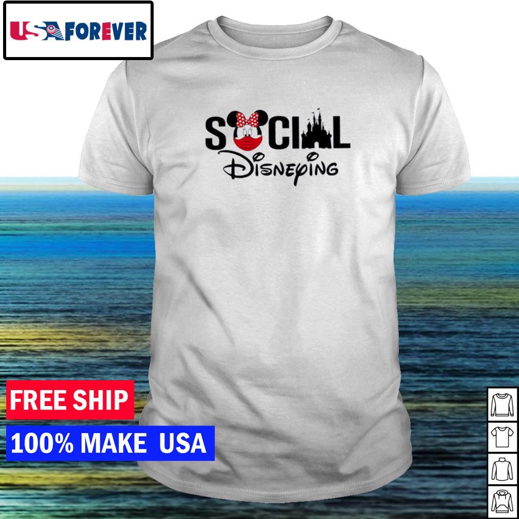 Disney social disneying shirt