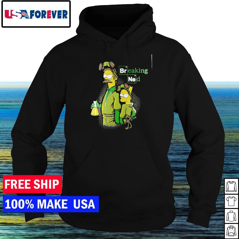 Breaking Bad Bart and Nerd breaking ned s hoodie
