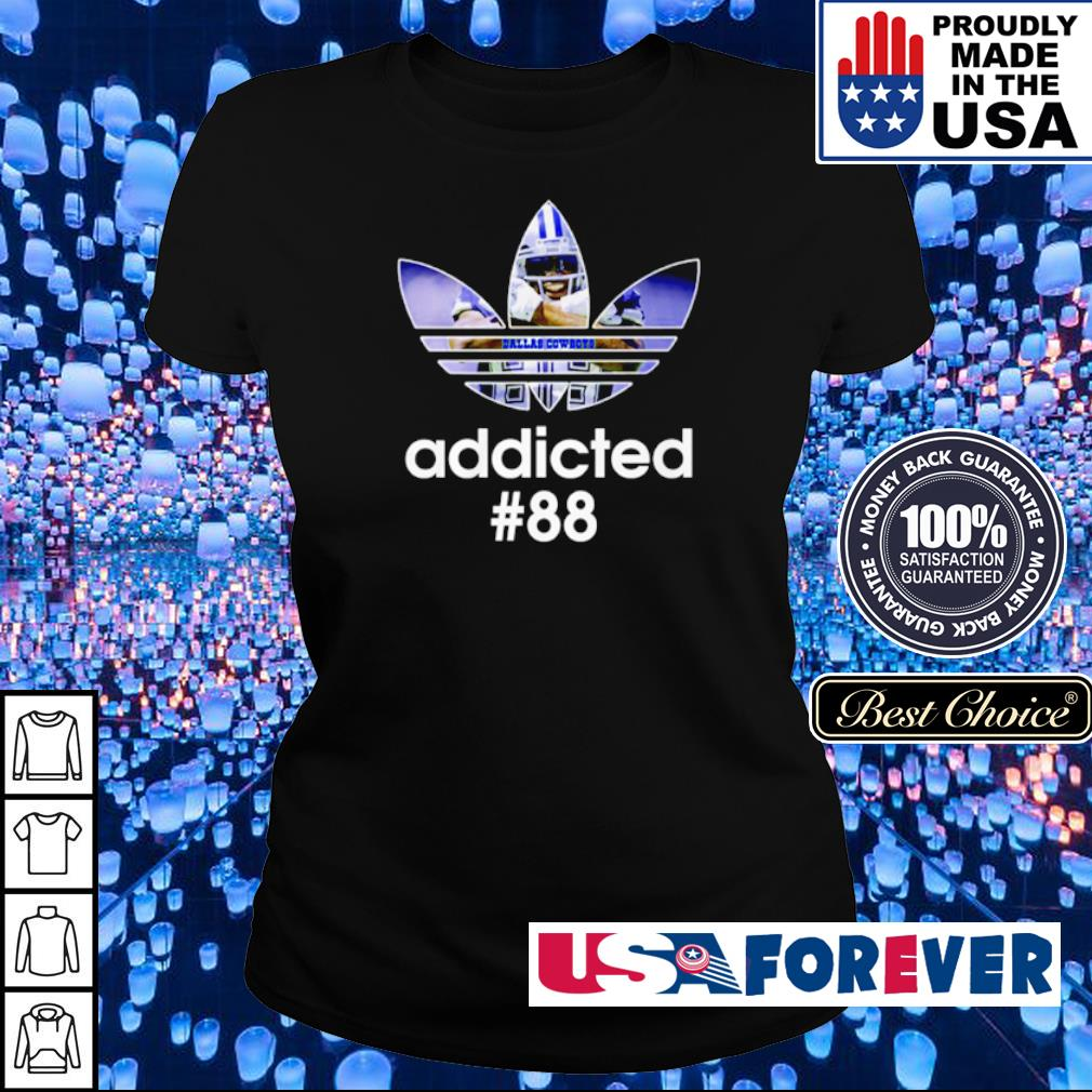 Adidas Dallas Cowboys addicted #88 s ladies