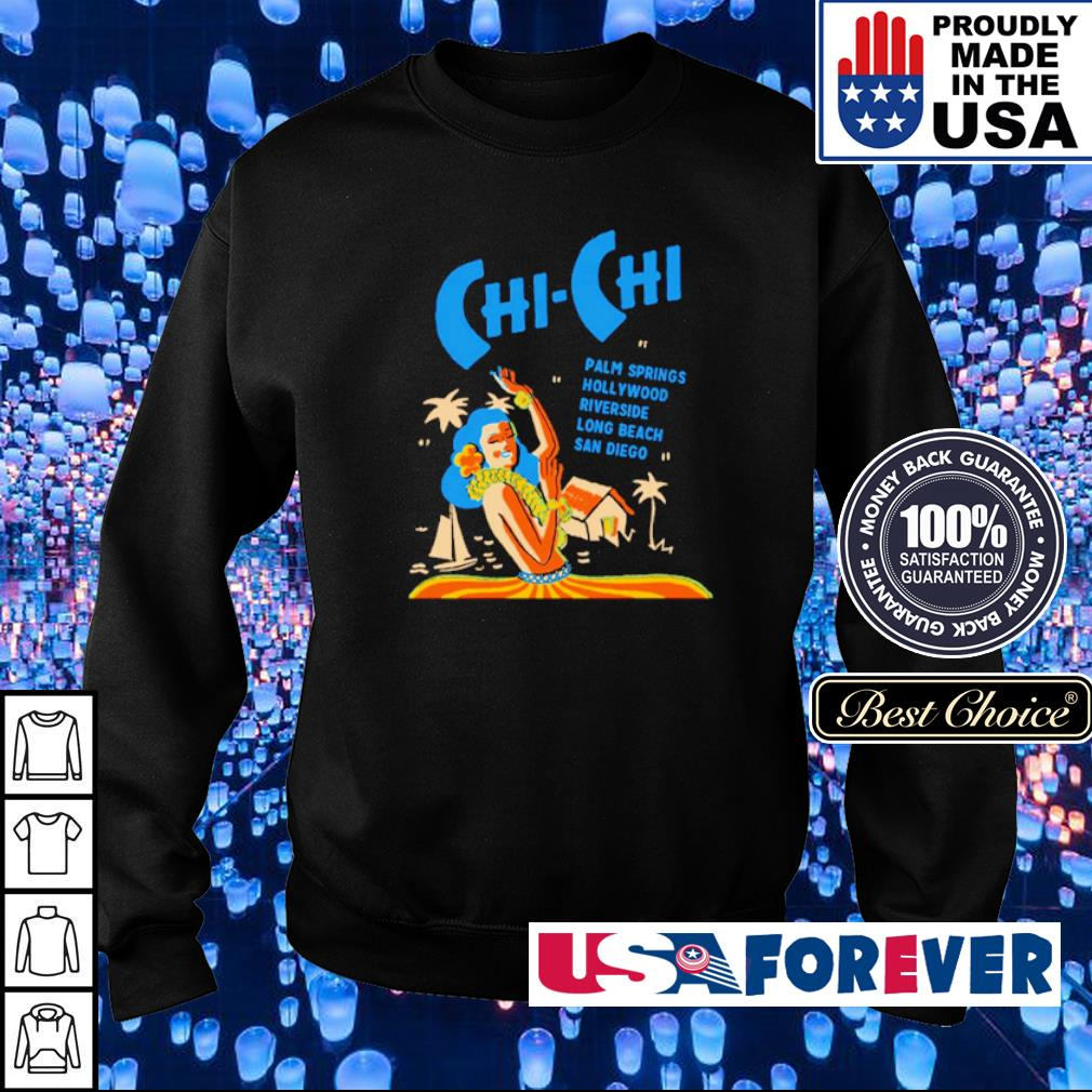 Chi-Chi palm springs Hollywood riverside long beach Sandiego s sweater