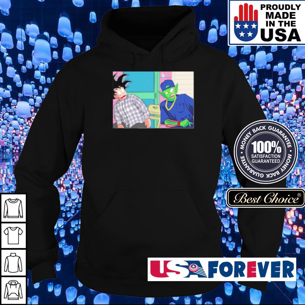 Goku and Piccolo damn meme s hoodie