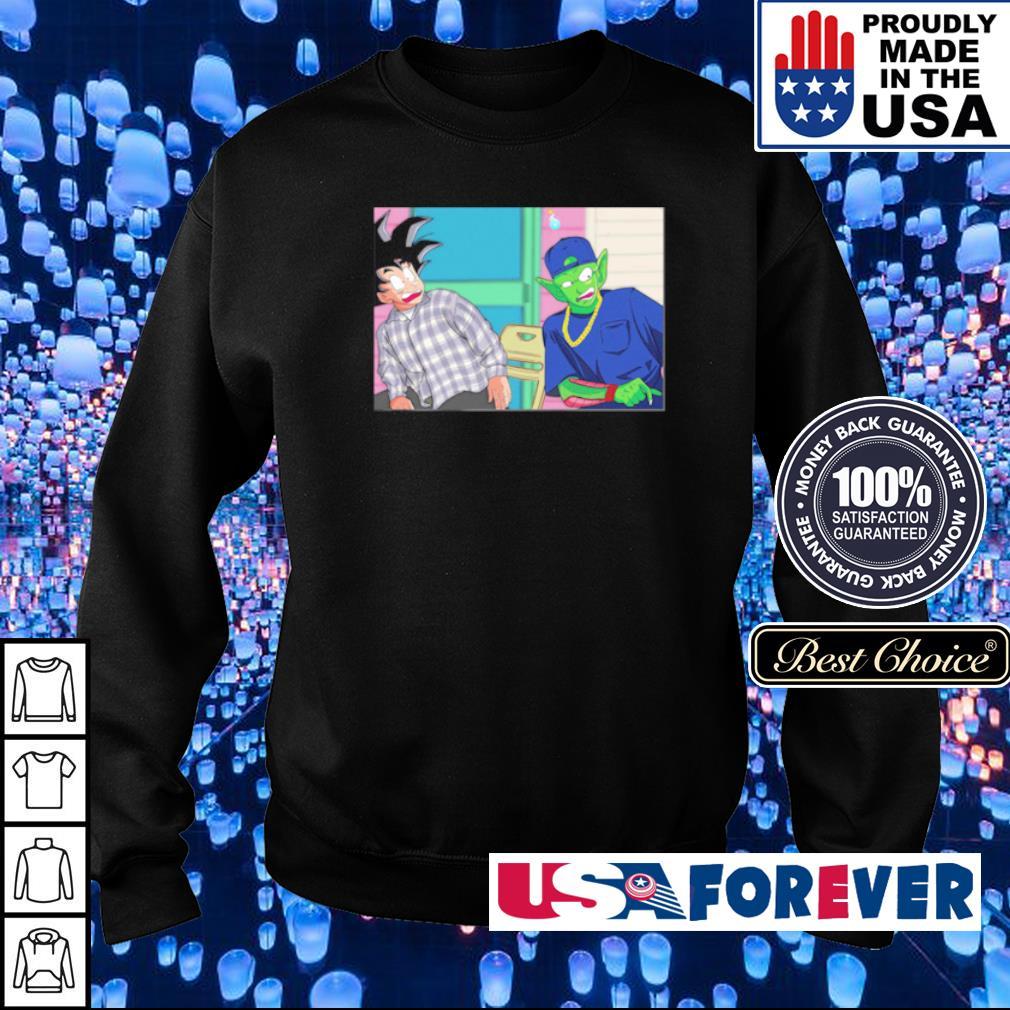 Goku and Piccolo damn meme s sweater