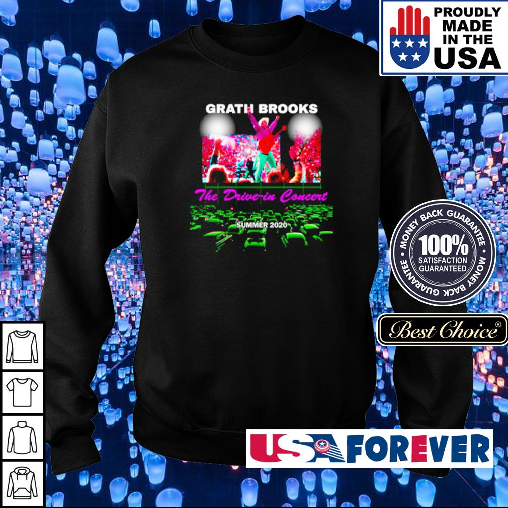 Grath Brooks the drive-in concert summer 2020 s sweater