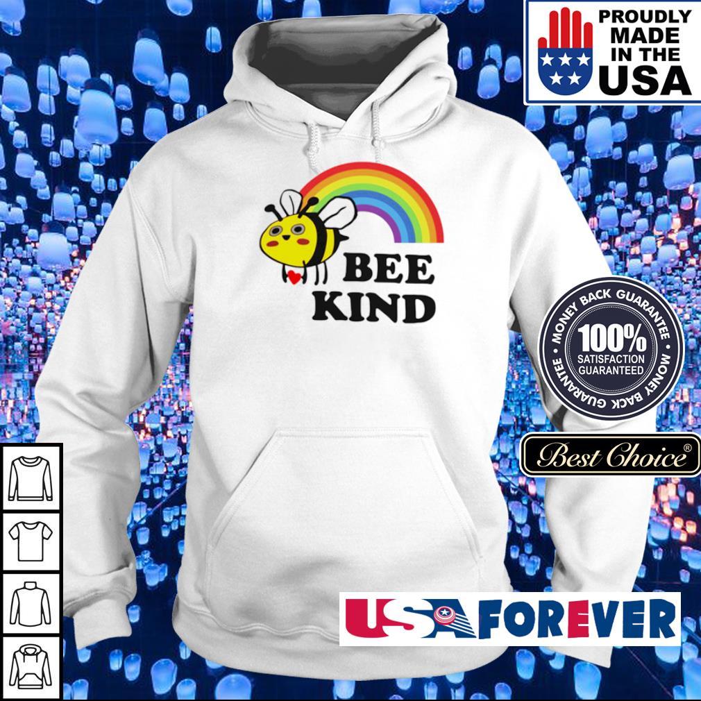 LGBT rainbow bee kind s hoodie