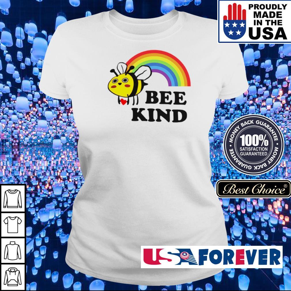 LGBT rainbow bee kind s ladies