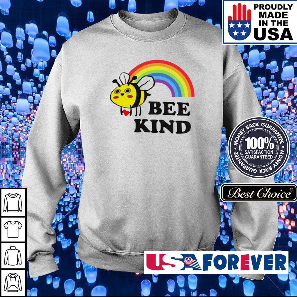 LGBT rainbow bee kind s sweater