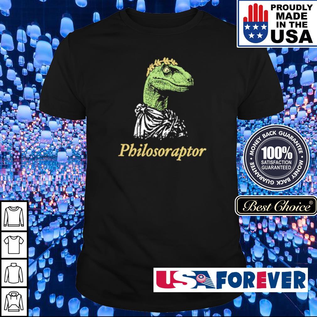 Official Dinosaur philosoraptor shirt