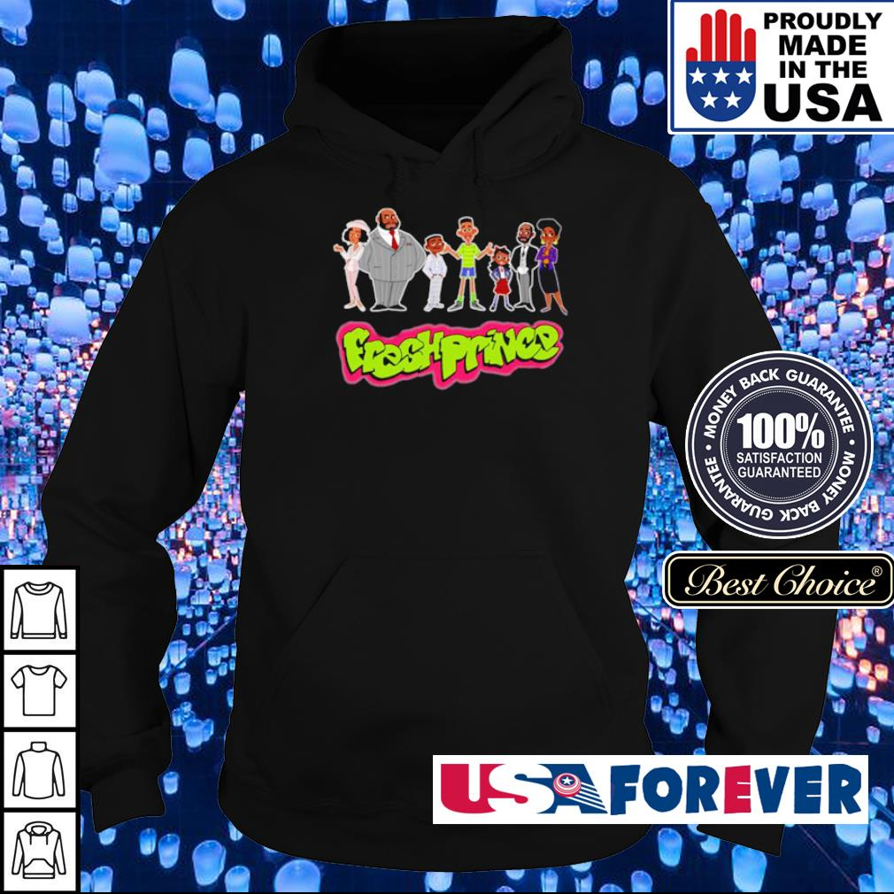 Official Fresh Prince chibi character s hoodie