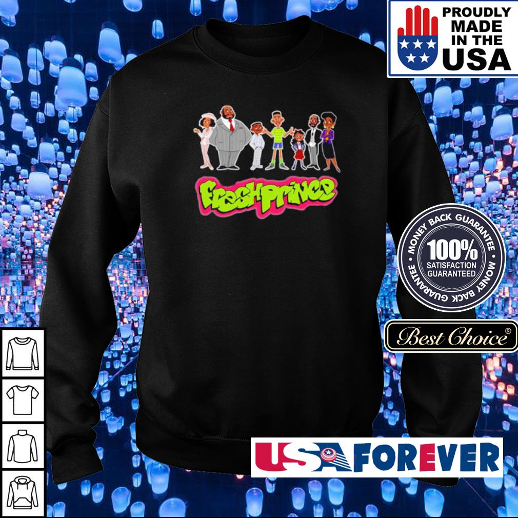 Official Fresh Prince chibi character s sweater