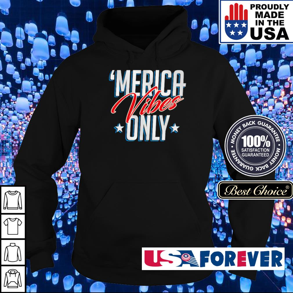 Official Merica vibes only s hoodie