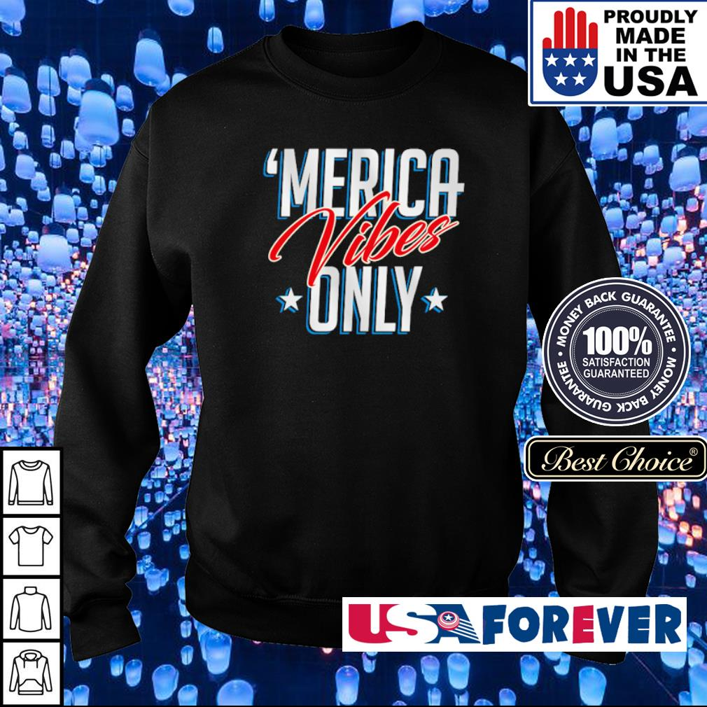 Official Merica vibes only s sweater