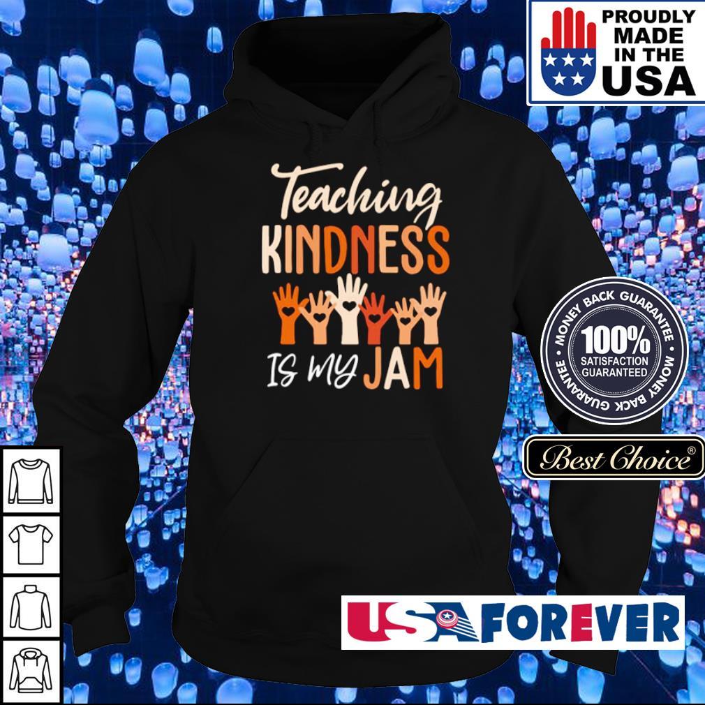 Teaching kindness is my jam s hoodie