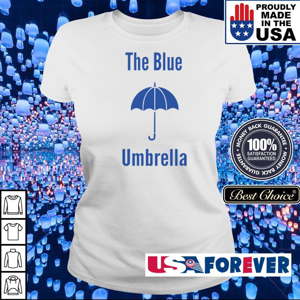 The blue umbrella s ladies