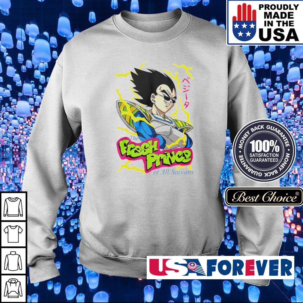 Vegeta the fresh prince of All Saiyans s sweater