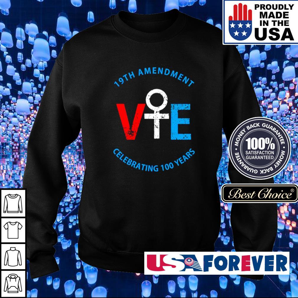 19th amendment VIE celebrating 100 years s sweater