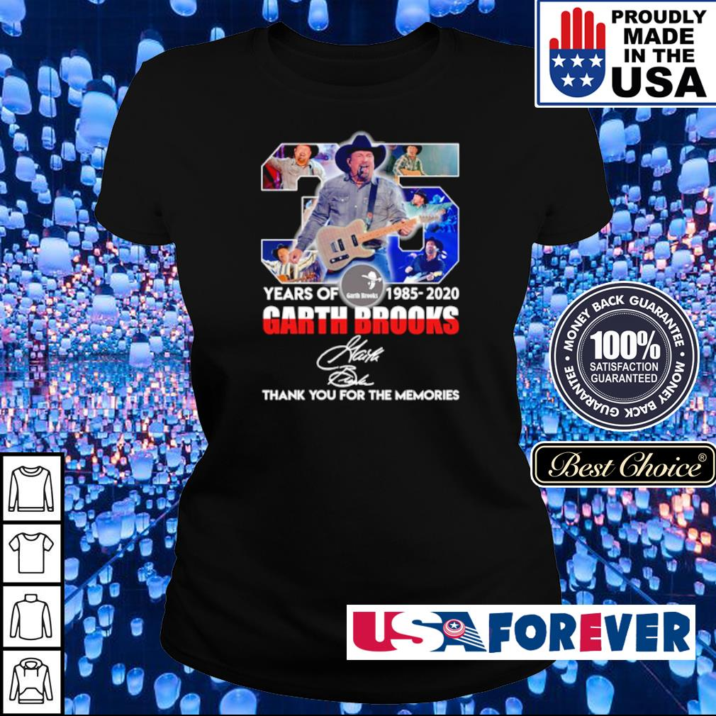 35 years of Garth Brooks thank you for the memories signature s ladies