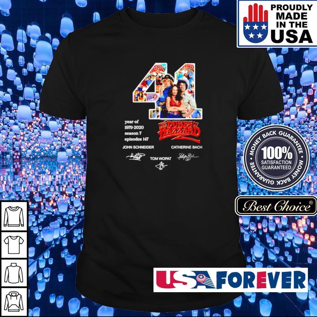 44 year of The Dukes Of Hazzard 1979 2020 John Schineider Tom Wopat signature shirt