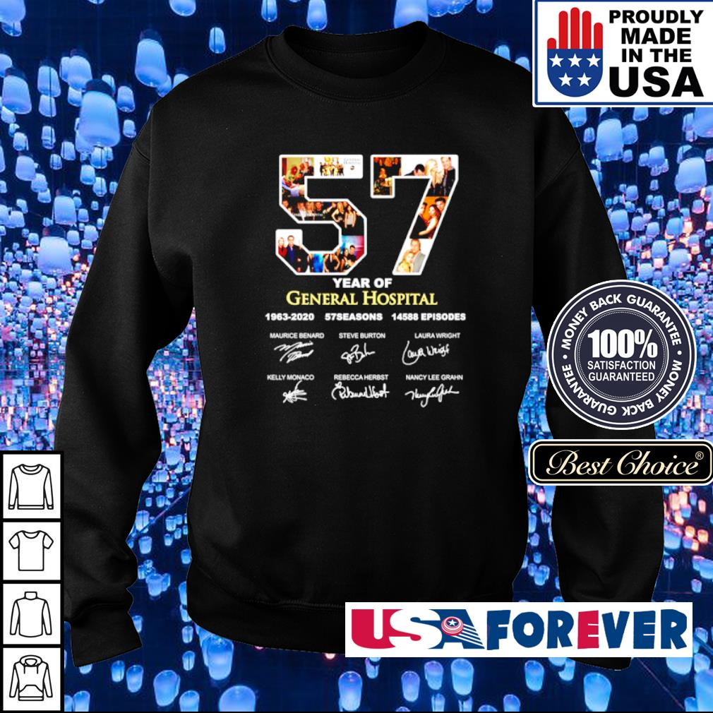 57 years General Hospital 1963 2020 57 seasons 14588 episodes s sweater