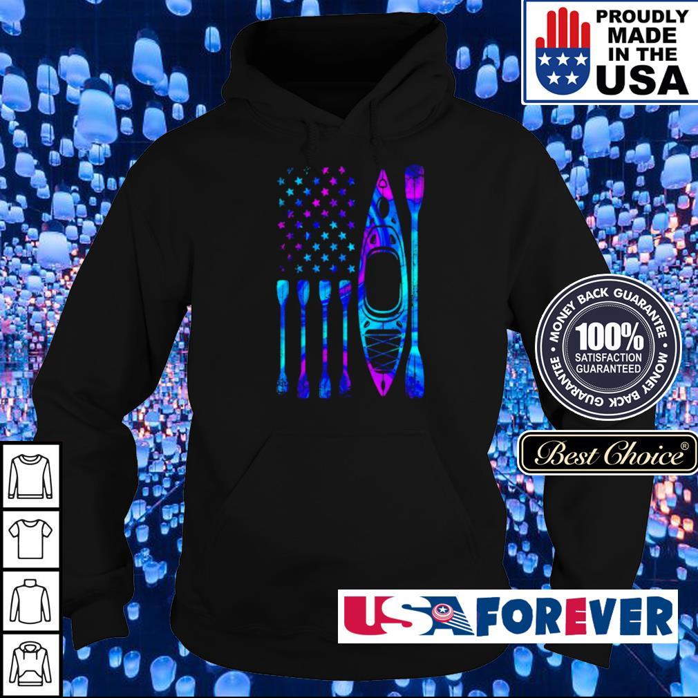 American Flag kayak s hoodie