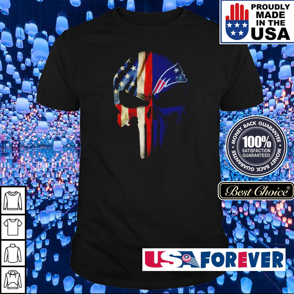 American Flag New England Patriots shirt