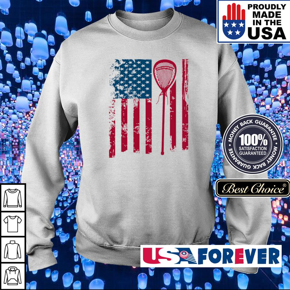 American Flag Softball s sweater