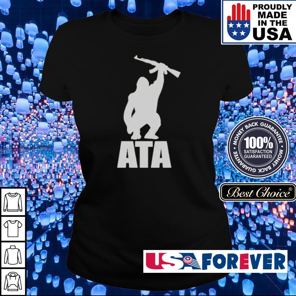 ATA Gorilla arm the animals clothing s ladies