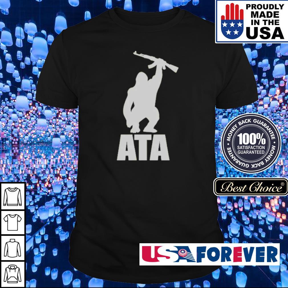 ATA Gorilla arm the animals clothing shirt