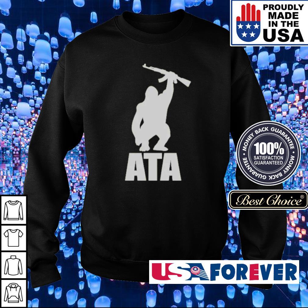 ATA Gorilla arm the animals clothing s sweater