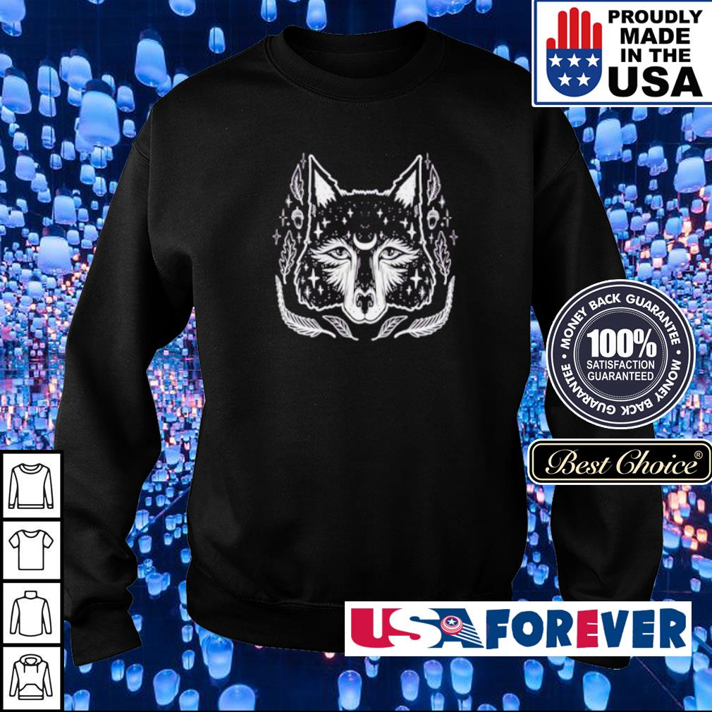 Awesome Wicca Wolf s sweater