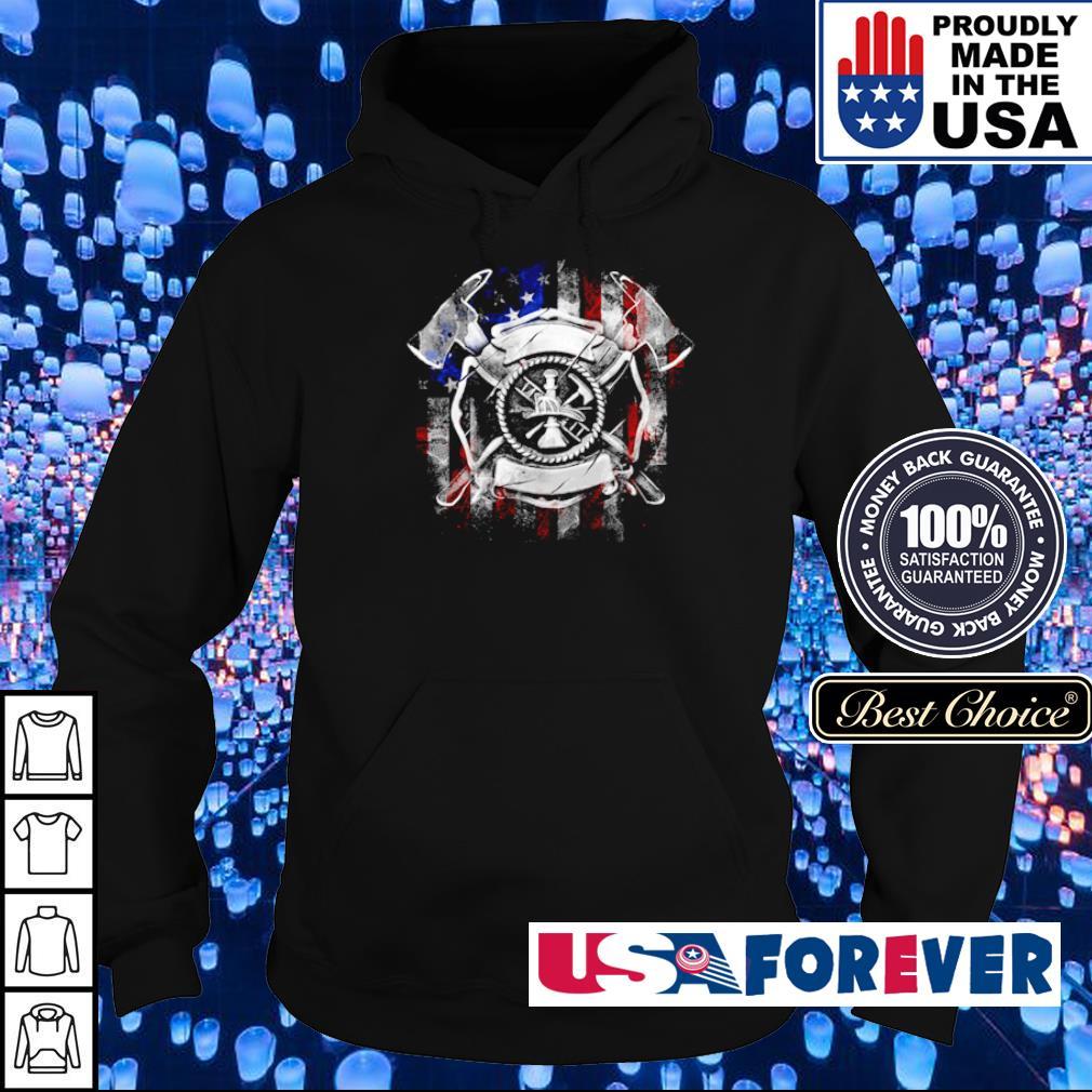 Axe Viking America Flag s hoodie