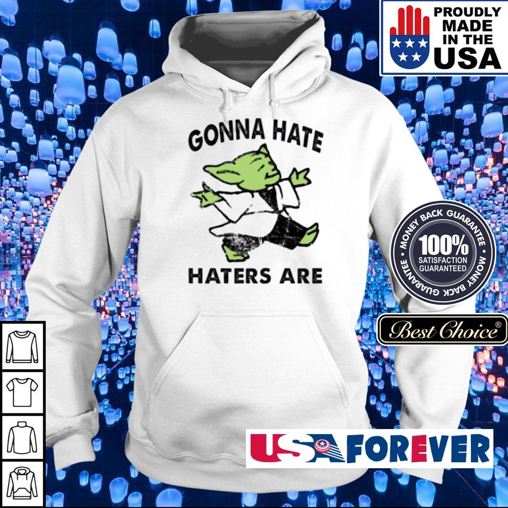 Baby Yoda gonna hate haters are s hoodie