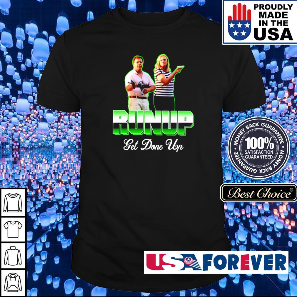 Black lives matter ST Louis couple run up get done up shirt