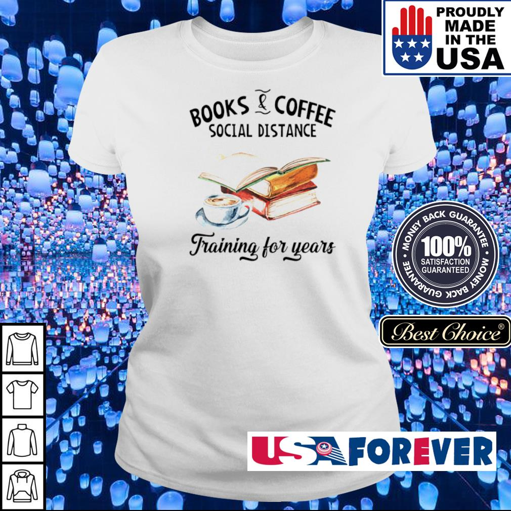 Books and coffee social distance training for years s ladies