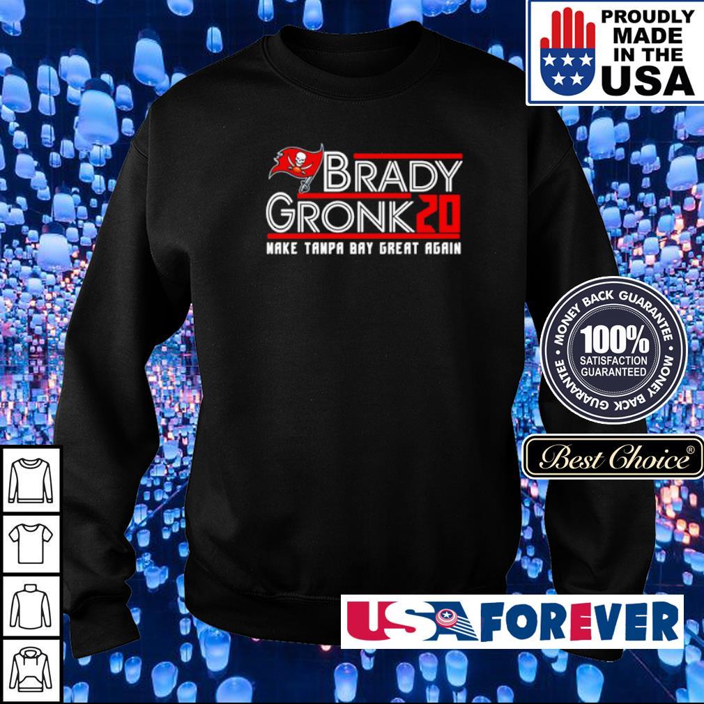 Brady Gronk 2020 make Tampa Bay great again s sweater