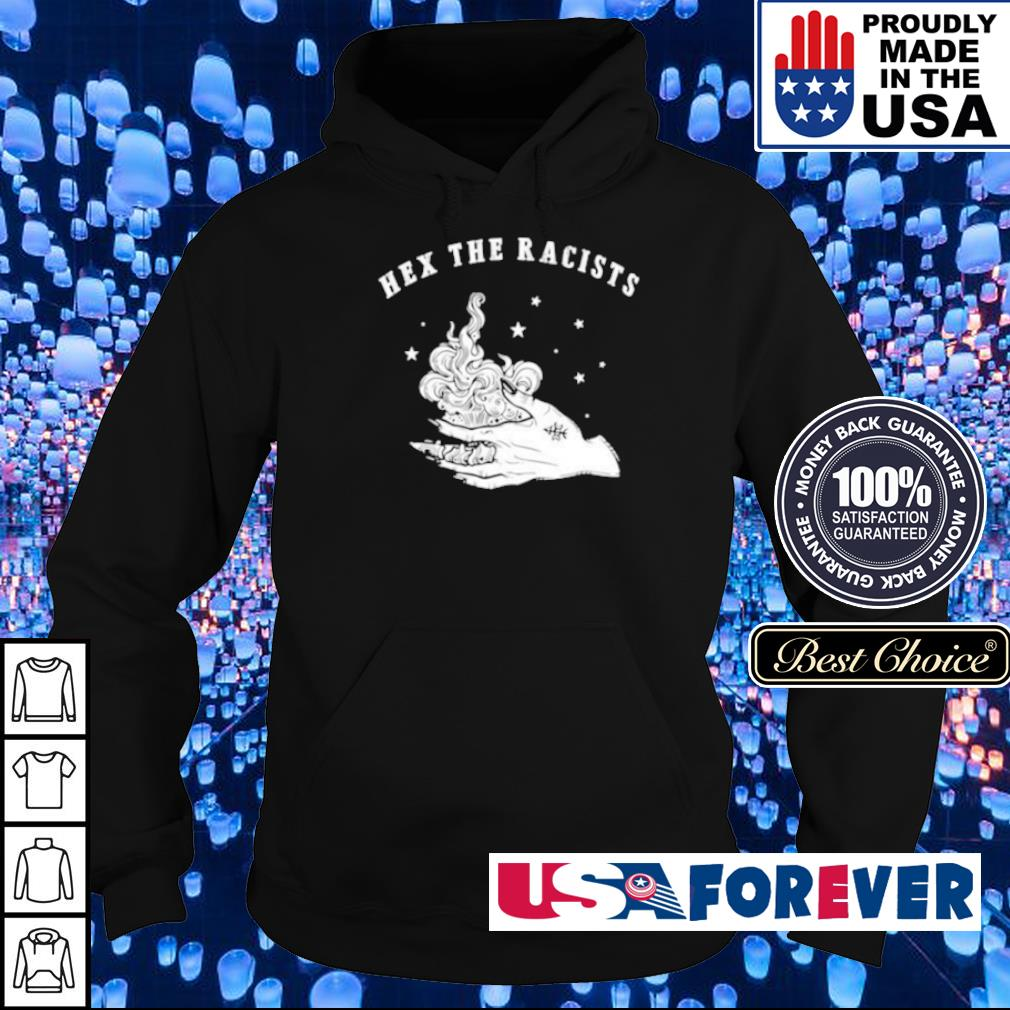 Brun it up Hex The Racists s hoodie