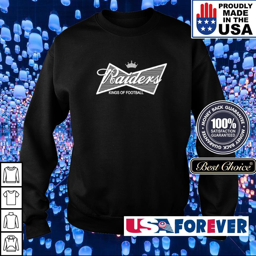 Budweiser Oakland Raiders kings of football s sweater