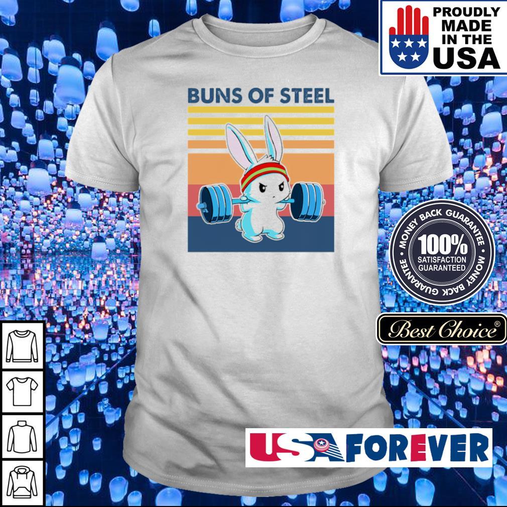 Bunny buns of steel shirt