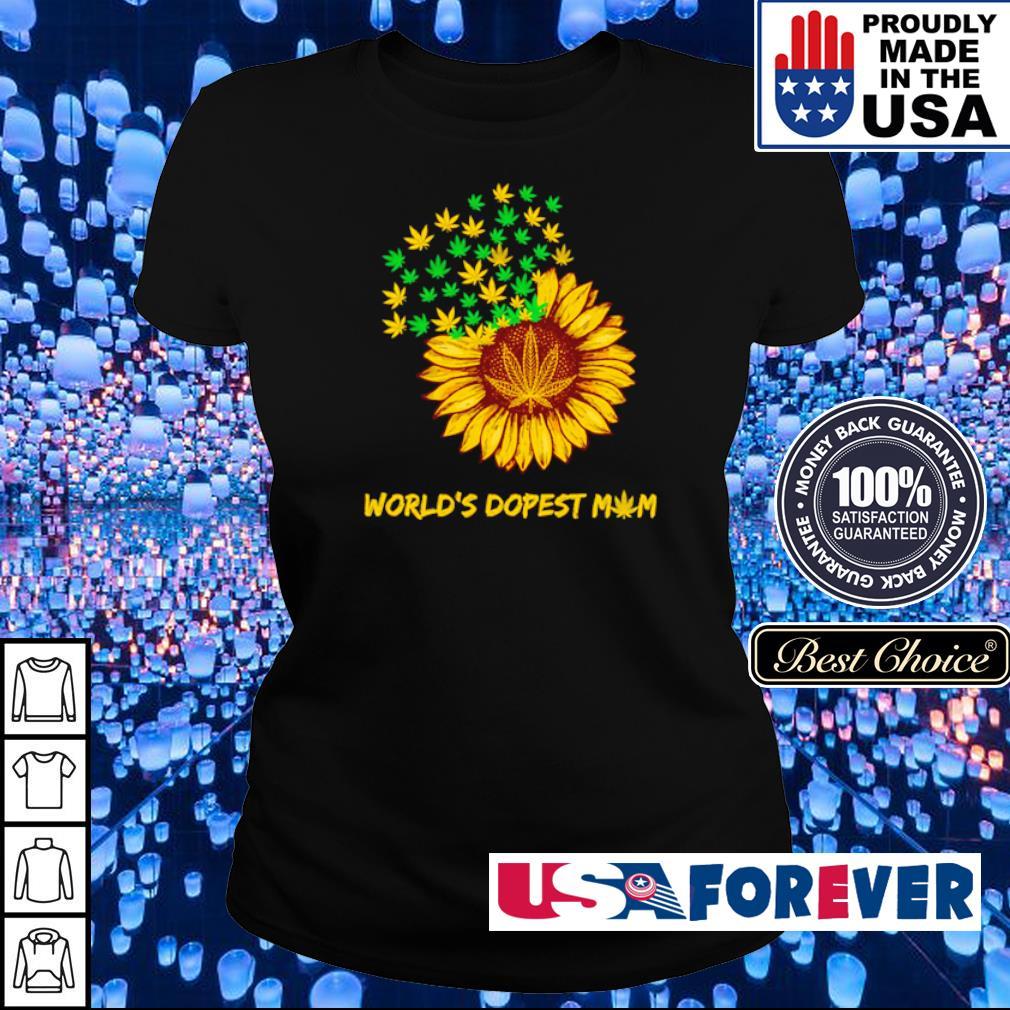 Canabis sunflower world's dopest mom s ladies