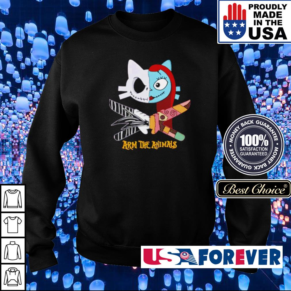 Cat Bride and Groom arm the animals s sweater