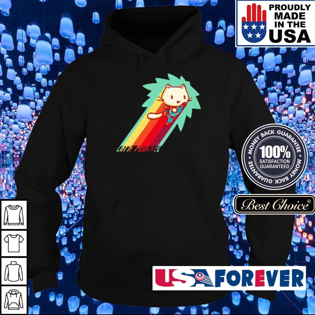 Cat Captain Marvel s hoodie