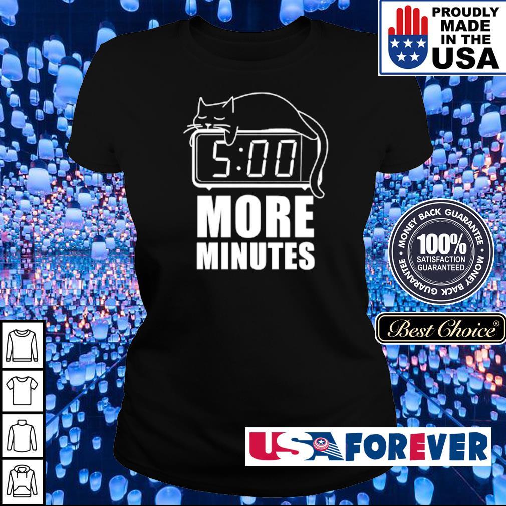 Cat sleep 5 more minutes s ladies