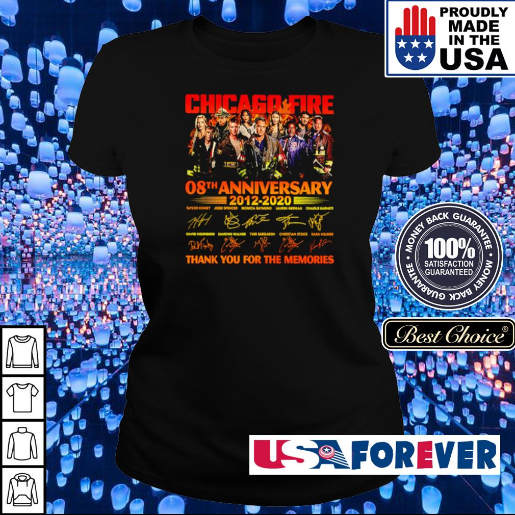 Chicago Fire 08th anniversary 2012 2020 thank you for the memories s ladies