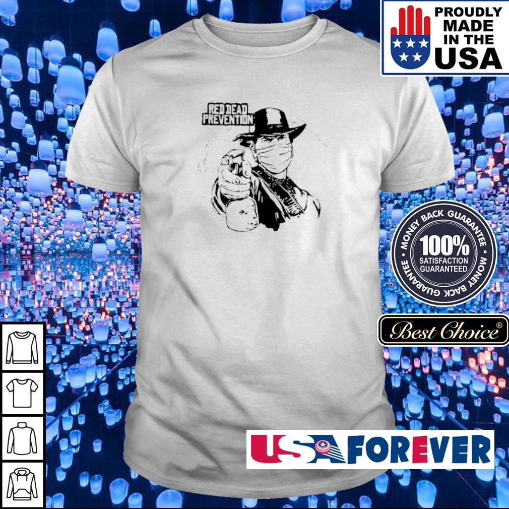Coronavirus Red Dead Prevention shirt