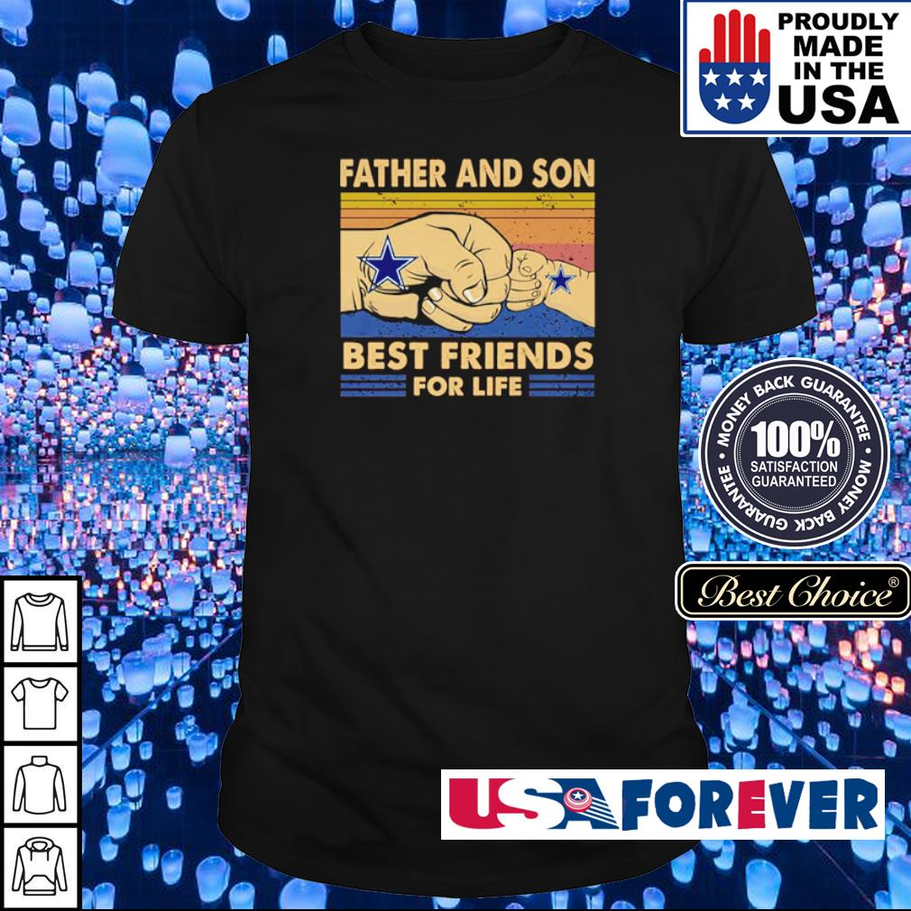 Dallas Cowboys father and son best friends for life shirt