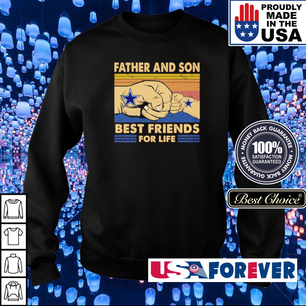 Dallas Cowboys father and son best friends for life s sweater