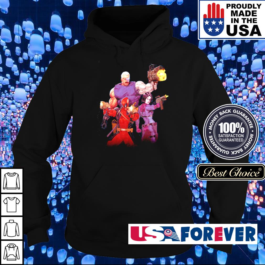 Deadpool and his team s hoodie