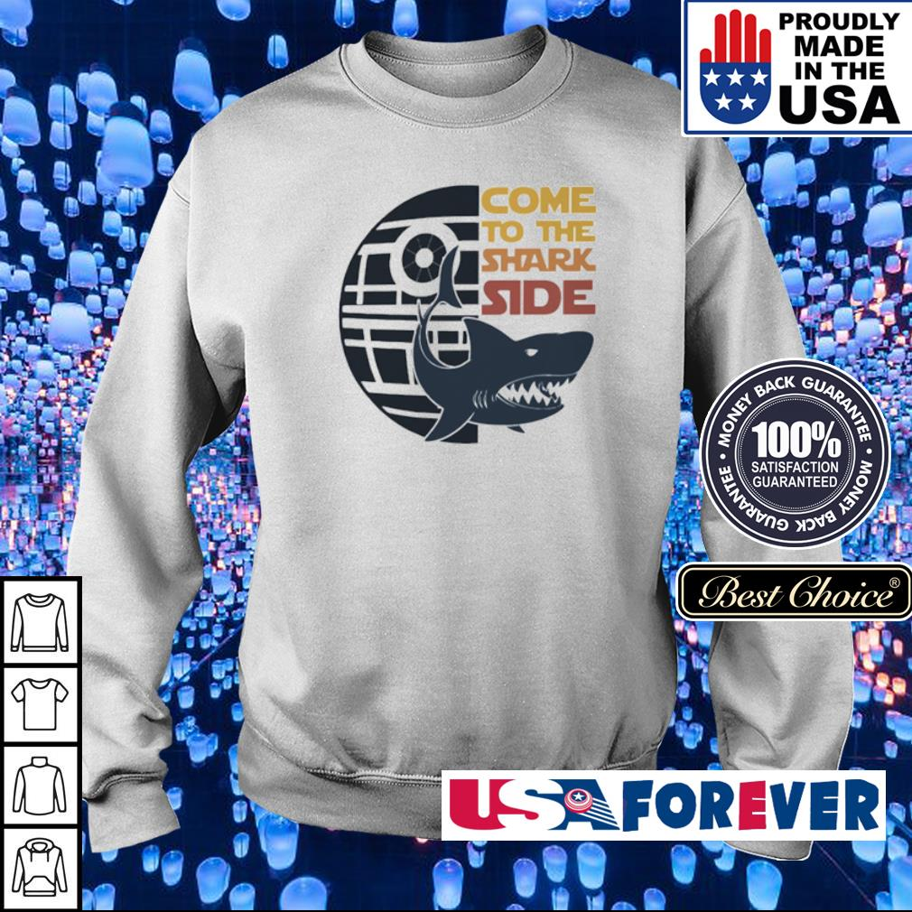 Death Star come to the Shark side s sweater