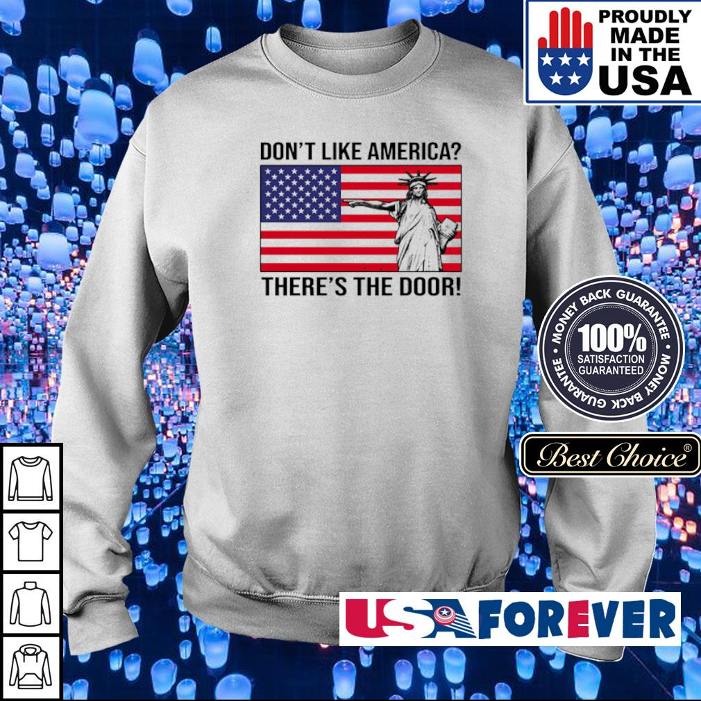 Don't like America there's the door s sweater