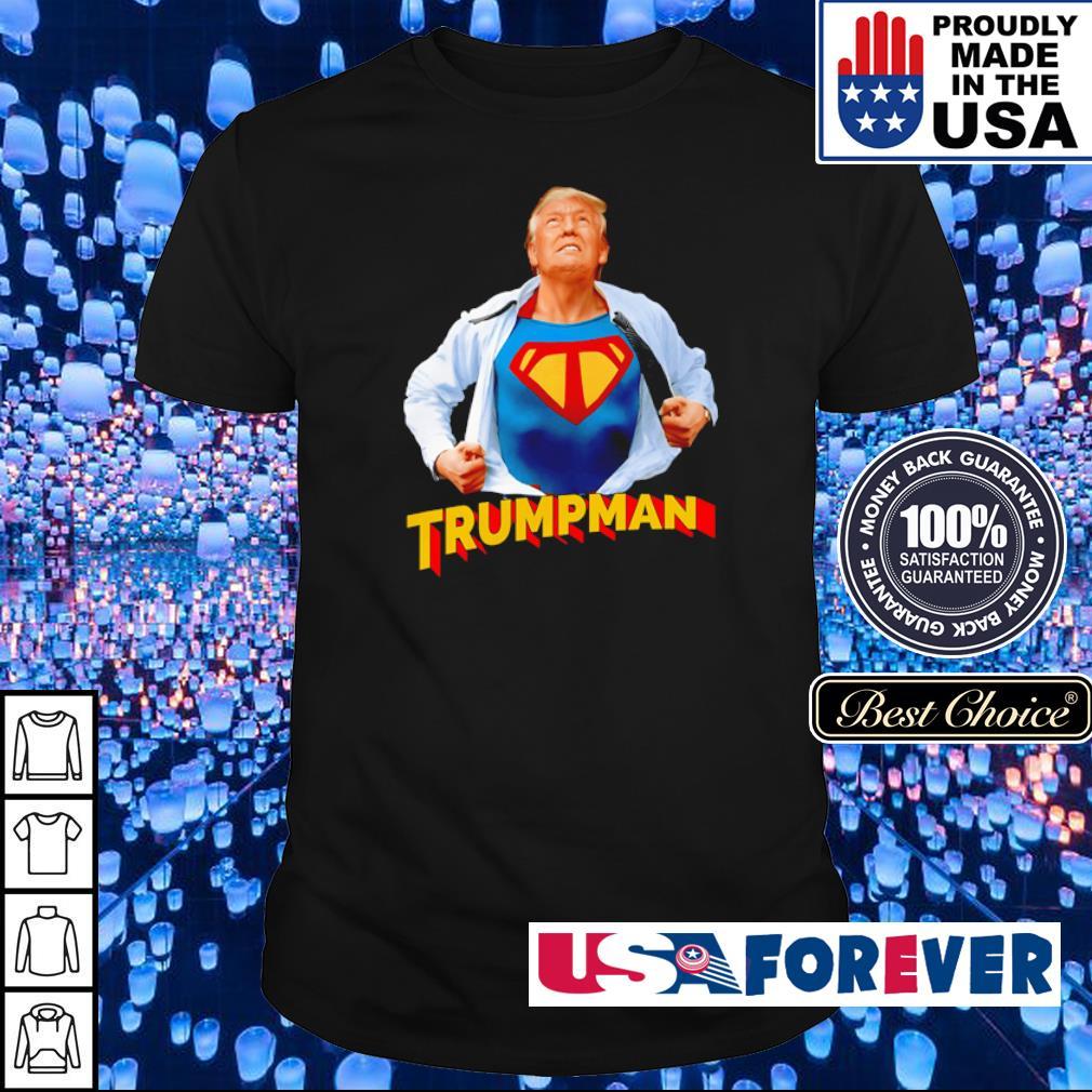 Donald Trump Superman shirt