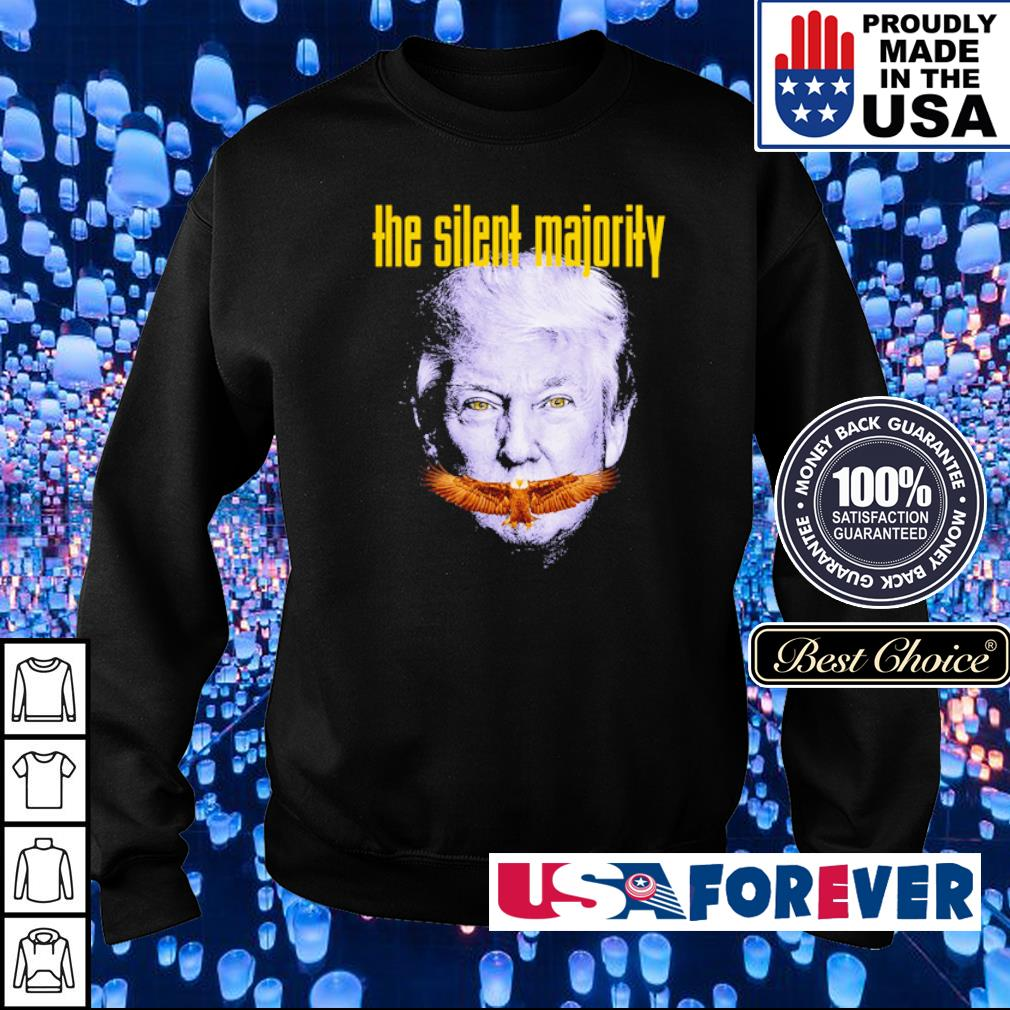 Donald Trump the silent majority s sweater